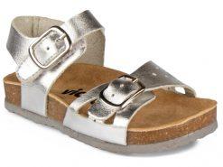 детски сандали- металик