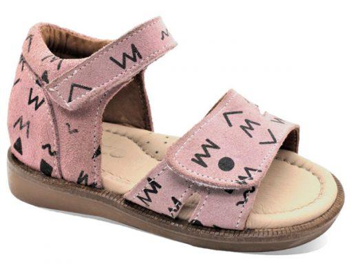 детски сандали- розева боја