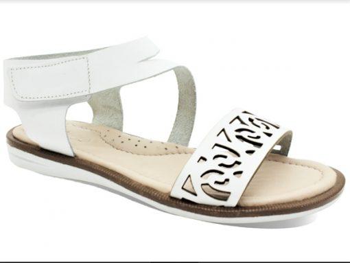 Женски и детски сандали- модел Лили бела боја