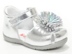 детски сандали за девојчиња сребрена боја