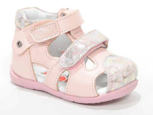 детски сандали за девојчиња, розева боја