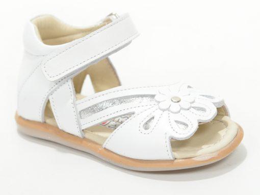 сандали за девојчиња, бела боја