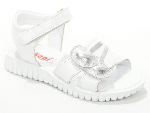 сандали за девојчиња, отворен модел сива боја