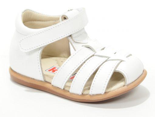 детски сандали бела боја