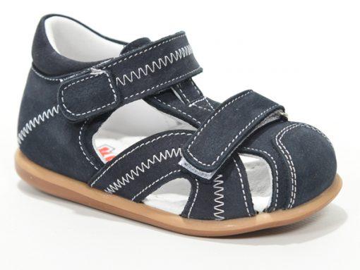 Бебешки сандали, отворен модел, тегет боја
