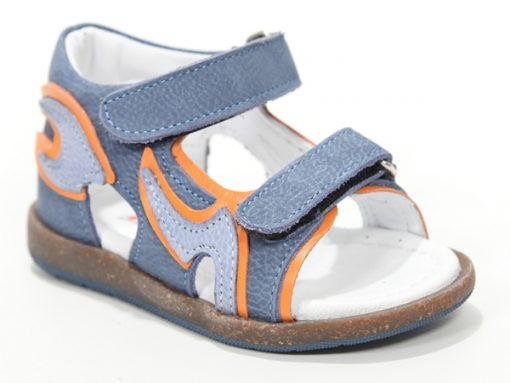 детски сандали за момчиња, модел портокалово